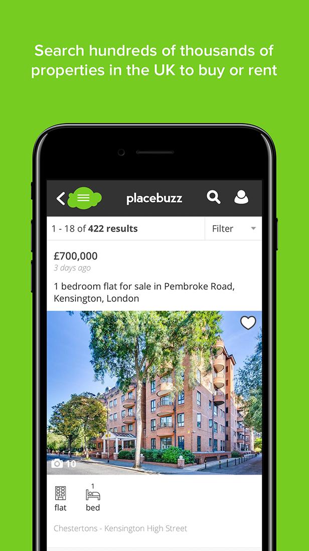 Placebuzz - Mobile App